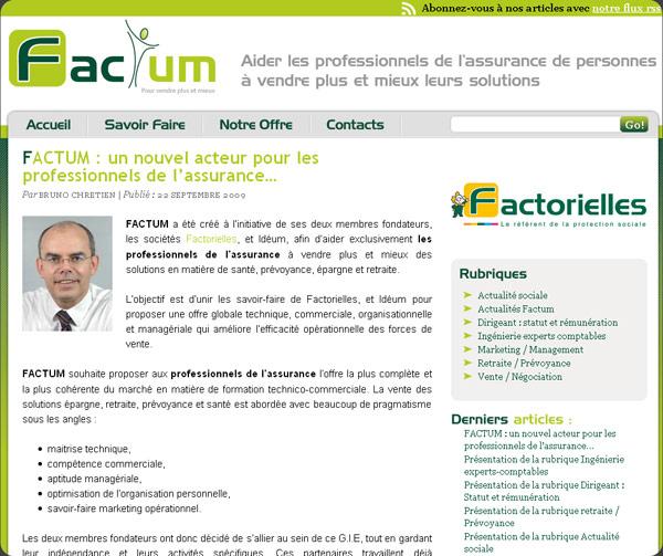 Blog Pro GIE Factum