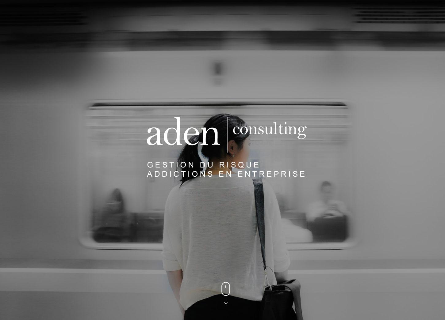 Site internet : Aden Consulting